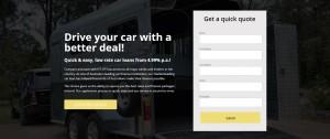 Car Loan 1 Landing Page
