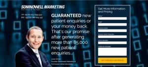 Somnowell Marketing Landing Page