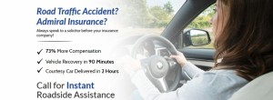 Road Traffic Accident Landing Page